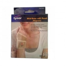 Tynor Wrist Brace With Thumb Neoprene
