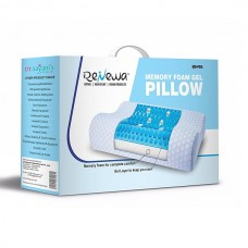 Renewa Memory Foam Gel Pillow, REN-P01G