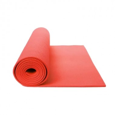 DJ Support Red 4mm Thick Anti Skid Yoga Mat, LS3231