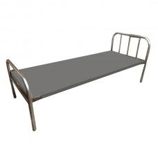 Painted Hospital Cot-Pipe
