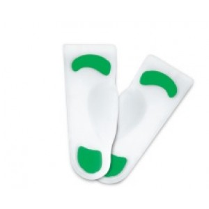 Orwalk 3/4 Silicone Insole With Medial Arch, SSIFC4A