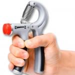 Adjustable Hand Gripper - Exerciser Strengthener Hand Exerciser Resistance 10Kg To 40Kg For Gym,Strong Wrist, Finger, Forearms (Color May Vary)