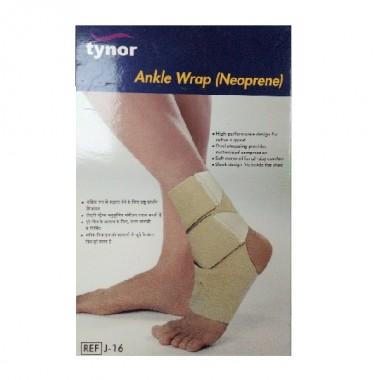 Tynor Ankle Wrap Neoprene