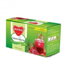 Nutrus Probiotic Green Tea (Pomegranate) Pack of 3